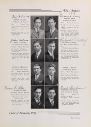 Page 17, 1934 Edition, Northeast High School - Record Yearbook (Philadelphia, PA) online yearbook collection
