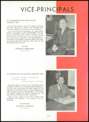 Page 11, 1955 Edition, Northeast High School - Record Yearbook (Philadelphia, PA) online yearbook collection