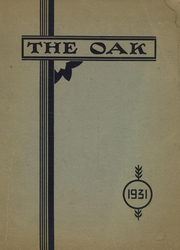 Upper Darby High School - Oak Yearbook (Upper Darby, PA) online yearbook collection, 1931 Edition, Page 1