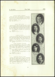 Page 11, 1931 Edition, Upper Darby High School - Oak Yearbook (Upper Darby, PA) online yearbook collection