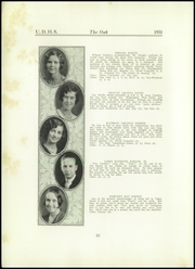 Page 12, 1931 Edition, Upper Darby High School - Oak Yearbook (Upper Darby, PA) online yearbook collection