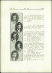 Page 14, 1931 Edition, Upper Darby High School - Oak Yearbook (Upper Darby, PA) online yearbook collection