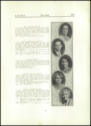 Page 15, 1931 Edition, Upper Darby High School - Oak Yearbook (Upper Darby, PA) online yearbook collection