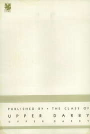 Page 4, 1936 Edition, Upper Darby High School - Oak Yearbook (Upper Darby, PA) online yearbook collection