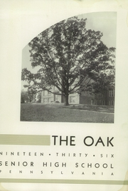Page 5, 1936 Edition, Upper Darby High School - Oak Yearbook (Upper Darby, PA) online yearbook collection