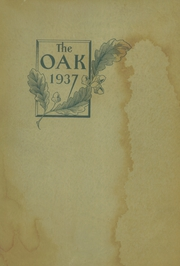 Page 1, 1937 Edition, Upper Darby High School - Oak Yearbook (Upper Darby, PA) online yearbook collection