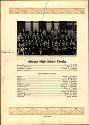 Page 12, 1929 Edition, Altoona High School - Horseshoe Yearbook (Altoona, PA) online yearbook collection