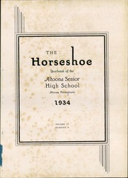 Page 5, 1934 Edition, Altoona High School - Horseshoe Yearbook (Altoona, PA) online yearbook collection