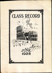 Page 9, 1928 Edition, Frankford High School - Record Yearbook (Philadelphia, PA) online yearbook collection