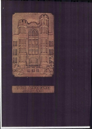 Frankford High School - Record Yearbook (Philadelphia, PA) online yearbook collection, 1939 Edition, Page 1