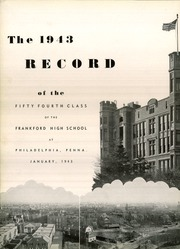 Page 10, 1943 Edition, Frankford High School - Record Yearbook (Philadelphia, PA) online yearbook collection