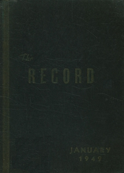Frankford High School - Record Yearbook (Philadelphia, PA) online yearbook collection, 1949 Edition, Page 1