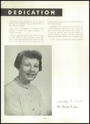Page 8, 1957 Edition, Frankford High School - Record Yearbook (Philadelphia, PA) online yearbook collection