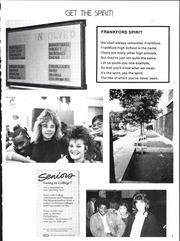 Page 9, 1988 Edition, Frankford High School - Record Yearbook (Philadelphia, PA) online yearbook collection