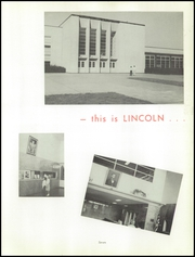 Page 9, 1956 Edition, Lincoln High School - Knight Yearbook (Philadelphia, PA) online yearbook collection