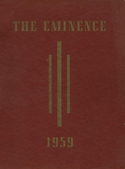1959 Edition, Cardinal Dougherty High School - Eminence Yearbook (Philadelphia, PA)