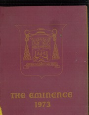 1973 Edition, Cardinal Dougherty High School - Eminence Yearbook (Philadelphia, PA)