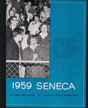 Page 7, 1959 Edition, Penn Hills High School - Seneca Yearbook (Penn Hills, PA) online yearbook collection