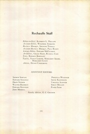 Page 13, 1928 Edition, Easton Area High School - Rechauffe Yearbook (Easton, PA) online yearbook collection