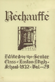 Page 7, 1932 Edition, Easton Area High School - Rechauffe Yearbook (Easton, PA) online yearbook collection