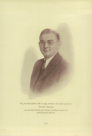 Page 9, 1932 Edition, Easton Area High School - Rechauffe Yearbook (Easton, PA) online yearbook collection