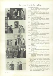 Page 12, 1950 Edition, Easton Area High School - Rechauffe Yearbook (Easton, PA) online yearbook collection