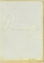 1959 Edition, Easton Area High School - Rechauffe Yearbook (Easton, PA)