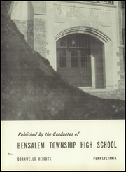 Page 6, 1953 Edition, Bensalem High School - Owl Yearbook (Bensalem, PA) online yearbook collection