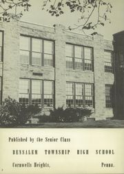Page 6, 1954 Edition, Bensalem High School - Owl Yearbook (Bensalem, PA) online yearbook collection