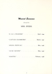 Page 10, 1949 Edition, McDowell High School - Kaldron Yearbook (Erie, PA) online yearbook collection
