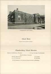 Page 14, 1938 Edition, Chambersburg Area High School - Echo Yearbook (Chambersburg, PA) online yearbook collection