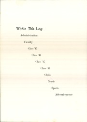 Page 10, 1945 Edition, Chambersburg Area High School - Echo Yearbook (Chambersburg, PA) online yearbook collection
