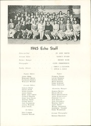 Page 13, 1945 Edition, Chambersburg Area High School - Echo Yearbook (Chambersburg, PA) online yearbook collection