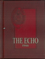 Page 1, 1946 Edition, Chambersburg Area High School - Echo Yearbook (Chambersburg, PA) online yearbook collection