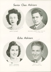Page 11, 1946 Edition, Chambersburg Area High School - Echo Yearbook (Chambersburg, PA) online yearbook collection