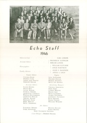 Page 12, 1946 Edition, Chambersburg Area High School - Echo Yearbook (Chambersburg, PA) online yearbook collection