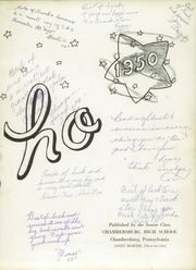 Page 7, 1950 Edition, Chambersburg Area High School - Echo Yearbook (Chambersburg, PA) online yearbook collection