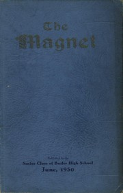 Page 1, 1929 Edition, Butler High School - Magnet Yearbook (Butler, PA) online yearbook collection