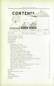 Page 10, 1929 Edition, Butler High School - Magnet Yearbook (Butler, PA) online yearbook collection