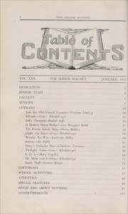 Page 10, 1931 Edition, Butler High School - Magnet Yearbook (Butler, PA) online yearbook collection