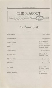 Page 8, 1931 Edition, Butler High School - Magnet Yearbook (Butler, PA) online yearbook collection