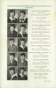 Page 16, 1933 Edition, Butler High School - Magnet Yearbook (Butler, PA) online yearbook collection
