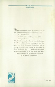 Page 6, 1933 Edition, Butler High School - Magnet Yearbook (Butler, PA) online yearbook collection