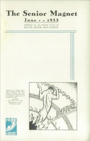 Page 7, 1933 Edition, Butler High School - Magnet Yearbook (Butler, PA) online yearbook collection