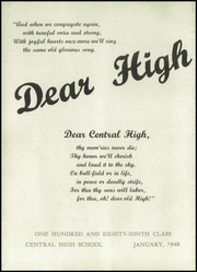 Page 6, 1948 Edition, Central High School - Yearbook (Philadelphia, PA) online yearbook collection