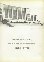 Page 7, 1960 Edition, Central High School - Yearbook (Philadelphia, PA) online yearbook collection