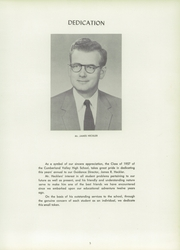 Page 9, 1957 Edition, Cumberland Valley High School - Argus Yearbook (Mechanicsburg, PA) online yearbook collection