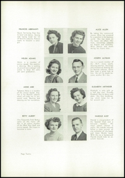 Page 16, 1946 Edition, Allegheny High School - Wah Hoo Yearbook (Pittsburgh, PA) online yearbook collection