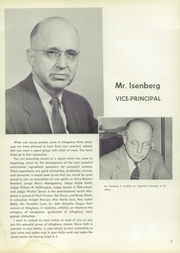 Page 13, 1957 Edition, Allegheny High School - Wah Hoo Yearbook (Pittsburgh, PA) online yearbook collection