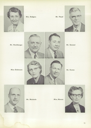 Page 17, 1957 Edition, Allegheny High School - Wah Hoo Yearbook (Pittsburgh, PA) online yearbook collection